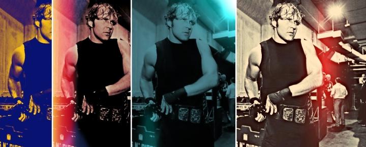 Dean Ambrose collage